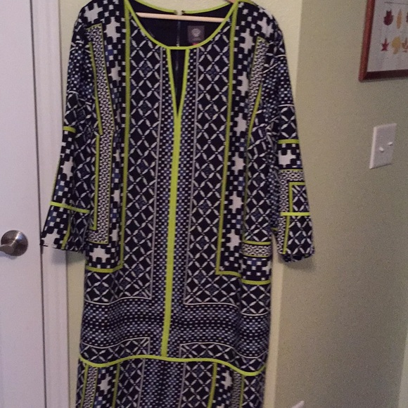 Vince Camuto plus-size dress NWT